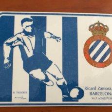 Collectionnisme sportif: REAL CLUB DEPORTIVO ESPAÑOL ESPANYOL CARNET SOCIO 1993 94 ABONO ANUAL JUVENIL PERFECTO ESTADO. Lote 260796000