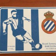 Collectionnisme sportif: REAL CLUB DEPORTIVO ESPAÑOL ESPANYOL CARNET SOCIO 1993 94 ABONO ANUAL INFANTIL PERFECTO ESTADO. Lote 260796015