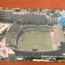 Coleccionismo deportivo: REAL CLUB DEPORTIVO ESPAÑOL ESPANYOL CARNET SOCIO 1992 93 ABONO ANUAL INFANTIL PERFECTO ESTADO. Lote 260796100