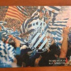 Coleccionismo deportivo: REAL CLUB DEPORTIVO ESPAÑOL ESPANYOL CARNET SOCIO 1991 92 ABONO ANUAL PERFECTO ESTADO. Lote 260796165
