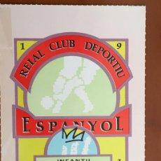 Coleccionismo deportivo: REAL CLUB DEPORTIVO ESPAÑOL ESPANYOL CARNET SOCIO 1991 ABONO ANUAL INFANTIL PERFECTO ESTADO. Lote 260796280