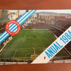 Coleccionismo deportivo: REAL CLUB DEPORTIVO ESPAÑOL ESPANYOL CARNET SOCIO 1984 ABONO ANUAL. Lote 260798395