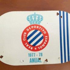 Coleccionismo deportivo: REAL CLUB DEPORTIVO ESPAÑOL ESPANYOL CARNET SOCIO 1977 78 ABONO ANUAL. Lote 260798860