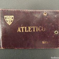 Coleccionismo deportivo: CARNET ATLETICO DE BILBAO + BILBAO ATHLETIC. Lote 261551925