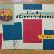 Collectionnisme sportif: CARNET DEL FUTBOL CLUB BARCELONA DEL AÑO 1960 - 3º TRIMESTRE BARÇA. Lote 264462199
