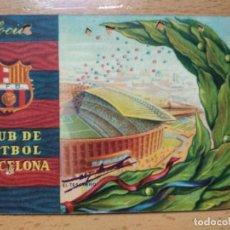 Collectionnisme sportif: CARNET SOCIO: C.F. BARCELONA BARÇA 2º TRIMESTRE 1958. Lote 264462939