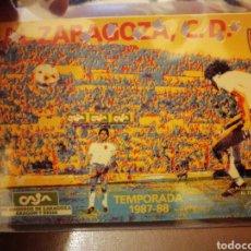 Coleccionismo deportivo: ABONO REAL ZARAGOZA 1986-87. Lote 265967473