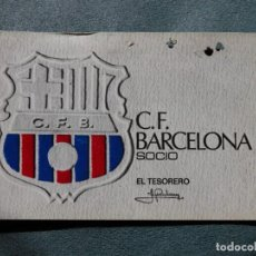 Coleccionismo deportivo: SOCIO F.C.BARCELONA SOCI 2ER TRIMESTRE1972. Lote 269053598