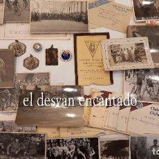 Coleccionismo deportivo: CLUB CICLISTA GRACIA. BARCELONA. INTERESANTE LOTE FOTOS-CARNETS-INSIGNIA-MEDALLAS... AÑOS 30 A 80. Lote 274237118