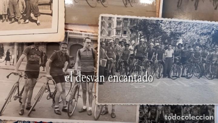 Coleccionismo deportivo: CLUB CICLISTA GRACIA. Barcelona. Interesante lote fotos-carnets-insignia-medallas... Años 30 a 80 - Foto 4 - 274237118