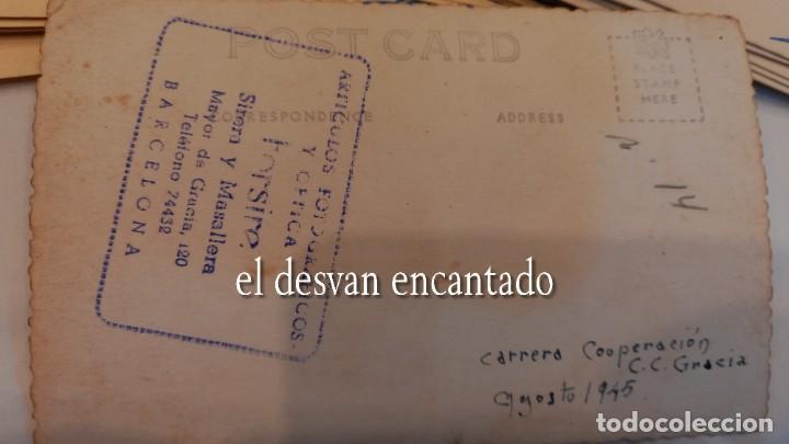Coleccionismo deportivo: CLUB CICLISTA GRACIA. Barcelona. Interesante lote fotos-carnets-insignia-medallas... Años 30 a 80 - Foto 14 - 274237118