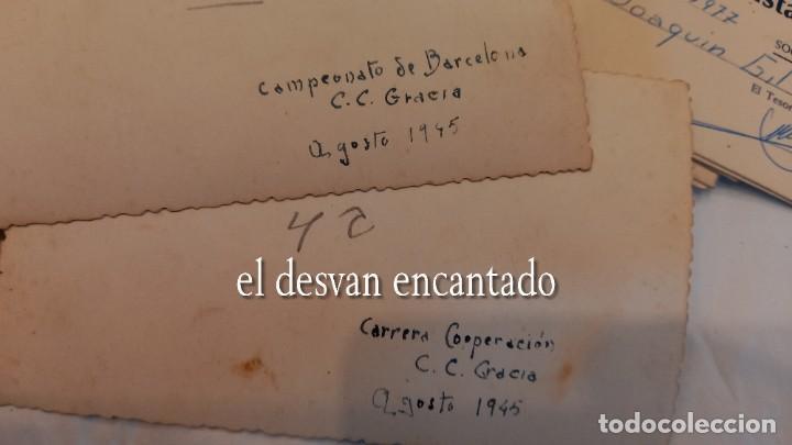 Coleccionismo deportivo: CLUB CICLISTA GRACIA. Barcelona. Interesante lote fotos-carnets-insignia-medallas... Años 30 a 80 - Foto 15 - 274237118