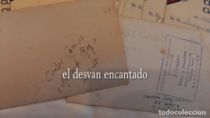 Coleccionismo deportivo: CLUB CICLISTA GRACIA. Barcelona. Interesante lote fotos-carnets-insignia-medallas... Años 30 a 80 - Foto 16 - 274237118