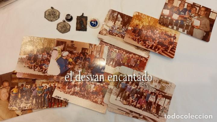 Coleccionismo deportivo: CLUB CICLISTA GRACIA. Barcelona. Interesante lote fotos-carnets-insignia-medallas... Años 30 a 80 - Foto 28 - 274237118