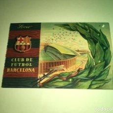 Coleccionismo deportivo: ABONO Ó CARNET BARCELONA CLUB FÚTBOL TEMPORADA 1958 TERCER TRIMESTRE. Lote 275220873