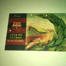 Coleccionismo deportivo: ABONO Ó CARNET BARCELONA CLUB FÚTBOL TEMPORADA 1958 CUARTO TRIMESTRE. Lote 275220988