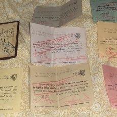 Collectionnisme sportif: ATHLETIC CLUB DE MADRID SOCIO 880 AÑO 1935. Lote 275966263