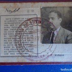 Coleccionismo deportivo: (F-210726)FEDERACION DE FUTBOL DE LA HABANA (CUBA)AÑO 1933. Lote 277598803