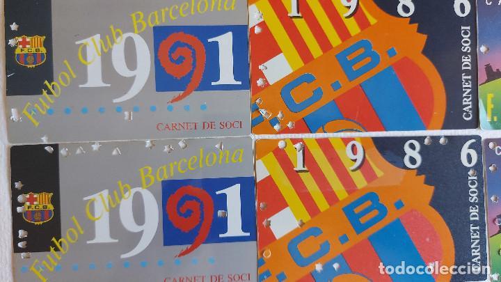 Coleccionismo deportivo: U-58.- LOTE DE -- 16 CARNETS.- F.C.BARCELONA.- SOCI.- VARIOS AÑOS , HAY 2 DE CADA AÑO.- VER FOTOS - Foto 2 - 277602913