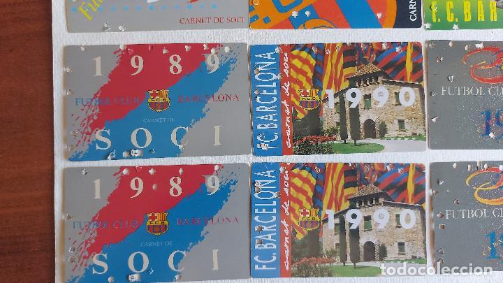 Coleccionismo deportivo: U-58.- LOTE DE -- 16 CARNETS.- F.C.BARCELONA.- SOCI.- VARIOS AÑOS , HAY 2 DE CADA AÑO.- VER FOTOS - Foto 4 - 277602913