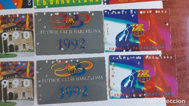 Coleccionismo deportivo: U-58.- LOTE DE -- 16 CARNETS.- F.C.BARCELONA.- SOCI.- VARIOS AÑOS , HAY 2 DE CADA AÑO.- VER FOTOS - Foto 5 - 277602913