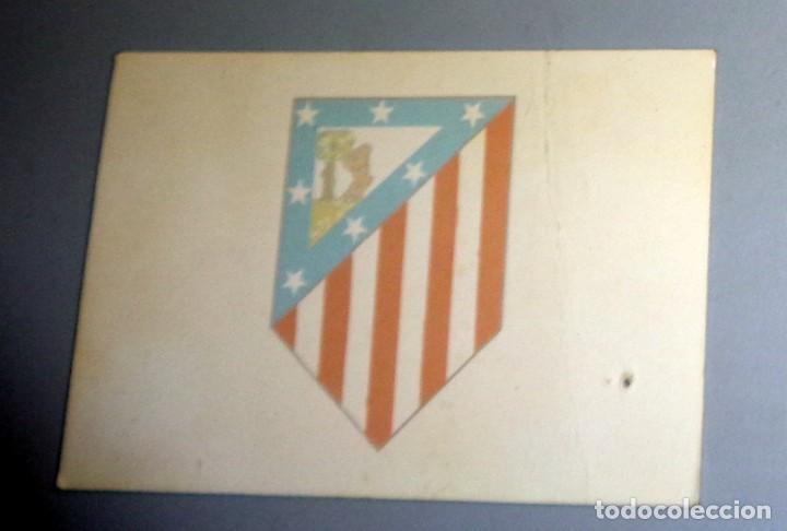 Coleccionismo deportivo: CARNET DE SOCIO ANTIGUO - FÚTBOL Año 1997-1998 97/98 - PEÑA ATLÉTICO de MADRID de HUESCA - Foto 2 - 277653893