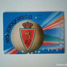 Coleccionismo deportivo: CARNET REAL ZARAGOZA TEMPORADA 1984-85. Lote 278400208
