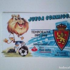 Coleccionismo deportivo: CARNET REAL ZARAGOZA TEMPORADA 1993-94. Lote 278400303