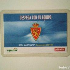 Coleccionismo deportivo: CARNET REAL ZARAGOZA TEMPORADA 2004-05. Lote 278400763
