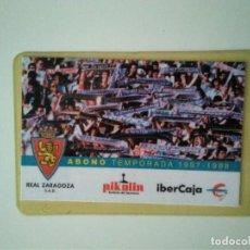 Coleccionismo deportivo: CARNET REAL ZARAGOZA TEMPORADA 1997-98. Lote 278400963