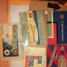 Collezionismo sportivo: 5 CARNETS FCB. Lote 284660383