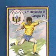 Collezionismo sportivo: CARNET FUTBOL SOCIO NUMERARIO TEMPORADA 2001-02 CORIA DEL RIO (SEVILLA). Lote 287063408
