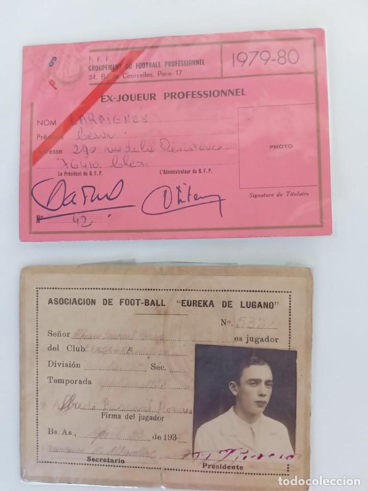 CARNETS DE FUTBOLISTAS (Coleccionismo Deportivo - Documentos de Deportes - Carnet de Socios)