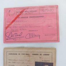 Coleccionismo deportivo: CARNETS DE FUTBOLISTAS. Lote 287074263