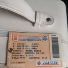 Coleccionismo deportivo: CARNET TEMPORADA 95/96 PARA PARTIDOS FUERA DE ABONO. C. D. TENERIFE. Lote 289786633