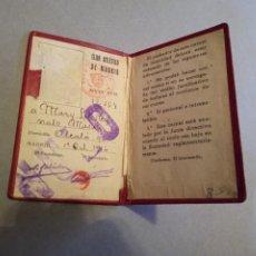 Coleccionismo deportivo: CARNET FÚTBOL ATLÉTICO DE MADRID 1946. Lote 293604918