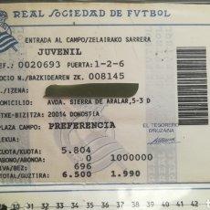Coleccionismo deportivo: CARNET ABONO REAL SOCIEDAD TEMPORADA 1990. Lote 295366773