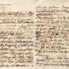 Lettres commerciales: SAN SEBASTIAN. 1917. CARTA COMERCIAL DE CERVECERIA SETIEN. DOS PAGINAS.. Lote 5426590