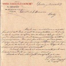 Cartas comerciales: SEVILLA-CARTA COMERCIAL DE M.GROSSO, INGENIERO INDUSTRIAL-.. Lote 7804659