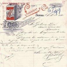 Cartas comerciales: SEVILLA-CARTA COMERCIAL DE COSECHEROS EXPORTADORES DE ACEITE SUPERIOR PURO DE OLIVA . Lote 7843845