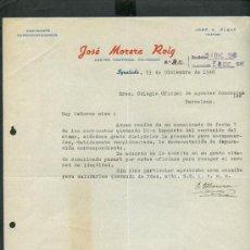 Jose marquillas 1940 agramunt comprar cartas comerciales antiguas en todocoleccion 24457985 - Agente comercial colegiado ...