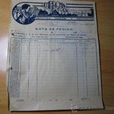 Cartas comerciales: SAN SEBASTIAN -CARTA COMERCIAL DE EMPROMA SA FAB CABLERIAS - OCT 1935 A ORENSE . Lote 11496836