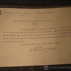 Cartas comerciales: DIPUTACION PROVINCIAL DE GRANADA. Lote 18465887