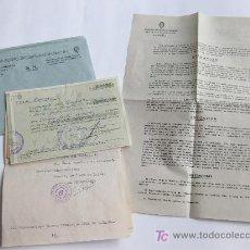 Cartas comerciales: CARTAS DE PEDIDO DE PELICULAS. SINDICATO NACIONAL DE ESPECTACULOS. CINE. ZAMORA. SAN PABLO FILMS. Lote 23253735