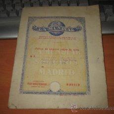 Cartas comerciales: LA MUNDIAL SEGUROS POLIZA DE SEGURO SOBRE LA VIDA Y OTROS . Lote 16233880