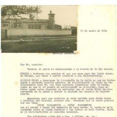 Cartas comerciales: CARTA COMERCIAL DIRIGIDA DE VALDESPINO A DON RICARDO MARTINENA. TAFALLA. NAVARRA. 1950.. Lote 18586859