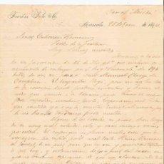 Cartas comerciales: VENEZUELA. MARACAIBO. CARTA. FOCION SOTO Y CO. 1894.. Lote 25258508