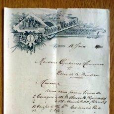 Cartas comerciales: CARTA COMERCIAL. BATAVIA. INDONESIA. JUNIO 1895. STAN & WEIJNS. COMESTIBLES... Lote 26481248