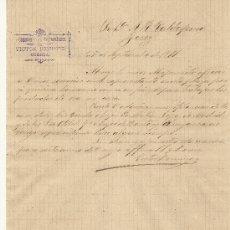 Cartas comerciales: 29 DE SEPTIEMBRE DE 1891.CARTA COMERCIAL VICTOR DOMINGO .CUENCA. Lote 26727996