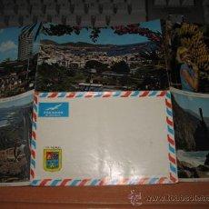 Cartas comerciales: LAS PALMAS SOBRE CARTA CON VISTAS DE LA ISLA.FOTO PORTADA VISTA PARCIAL DEL PUERTO DE LA LUZ. Lote 27096964